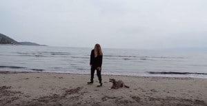 Εκπαίδευση σκύλου στη θάλασσα